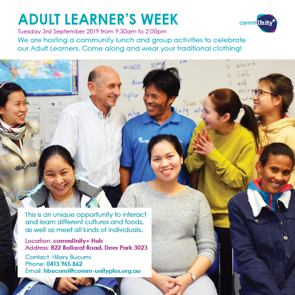 2019 08 29 Adult Learners Week